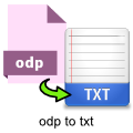 odp-to-txt-converter