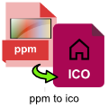 ppm-to-ico-converter