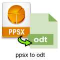 ppsx-to-odt-converter