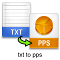 txt-to-pps-converter