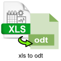 xls-to-odt-converter